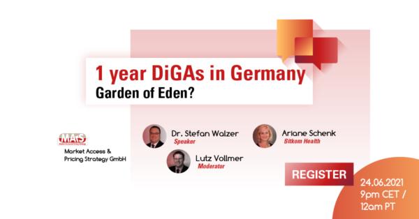 DIGA in Germany